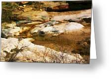 Rock Pattern Greeting Card