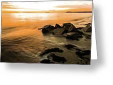 Rock Rise Greeting Card