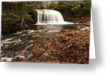 Rock River Falls Greeting Card