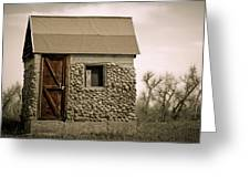 Rock Shed 2 Greeting Card