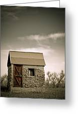 Rock Shed Greeting Card