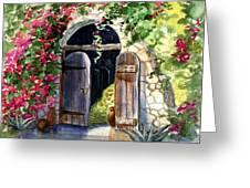 Rock Springs Gate Greeting Card