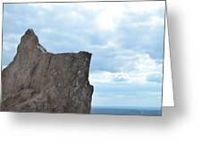 Rock Top Greeting Card