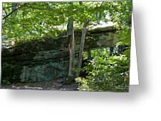 Rock Tunnel Greeting Card