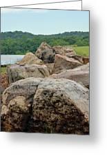 Rock Wall Greeting Card