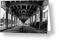 Rockaway Freeway, Queens New York Greeting Card