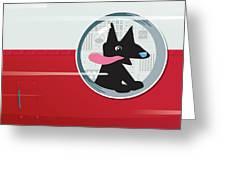 Rocket Dog Greeting Card