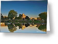 Rockford Mi Reflection Greeting Card