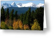 Rockies Mtn M 204 Greeting Card