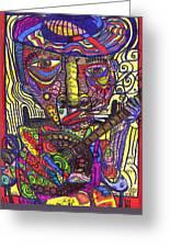 Rockin Chair Greeting Card by Robert Wolverton Jr