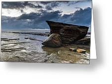 Rockin The Seascape Greeting Card
