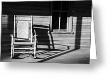 Rocking Chair Work A Greeting Card