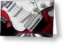 Rock'n Roller Coaster Aerosmith Greeting Card
