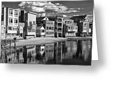 Rockport Coast In Ir Greeting Card
