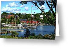 Rockport Harbor Greeting Card
