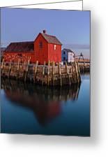 Rockport Ma Fishing Shack - #1 Greeting Card