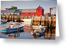 Rockport Motif Greeting Card