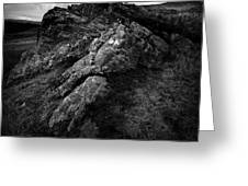 Rocks And Ben More Greeting Card