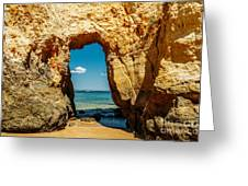 Rocks And Ocean Landscape In Lagos, Wall Art Print, Landscape Art, Poster Decor, Printable Photo Greeting Card