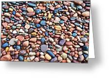 Rocks At Little Girls Point Greeting Card