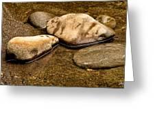 Rocks At Rest Greeting Card