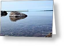 Rocks Of Lake Superior 10 Greeting Card