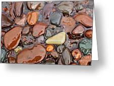 Rocks Of Lake Superior 12 Greeting Card