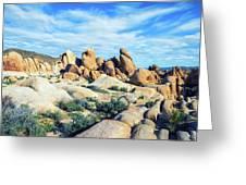 Rocks Upon Rocks Greeting Card