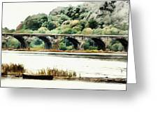 Rockville Bridge On The Susquehanna River Greeting Card