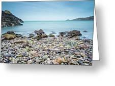 Rocky Beach Greeting Card by James Billings