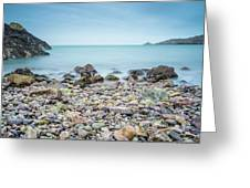 Rocky Beach Greeting Card by James Billings