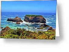 Rocky California Coast 006 Greeting Card