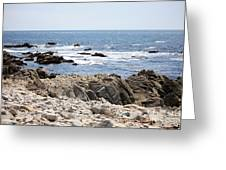 Rocky California Coastline Greeting Card