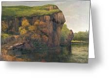 Rocky Cliffs Greeting Card