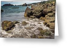 Rocky Coast Greeting Card