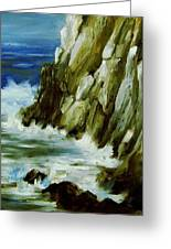 Rocky Coast Of Maine Greeting Card