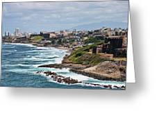 Rocky Coast Of Puerto Rico Greeting Card
