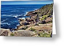 Rocky Coastline 1 Greeting Card