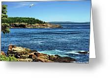 Rocky Coastline 3 Greeting Card
