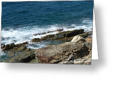 Rocky Coastline Greeting Card