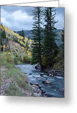 Rocky Crossing Greeting Card