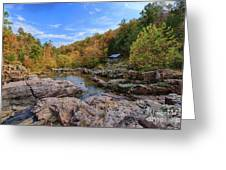 Rocky Falls Near Klepzig Mill Greeting Card