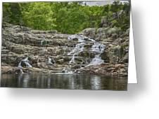 Rocky Falls Ozark National Scenic Riverways Dsc02788 Greeting Card