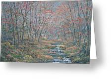 Rocky Forest. Greeting Card