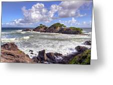 Rocky Island Greeting Card