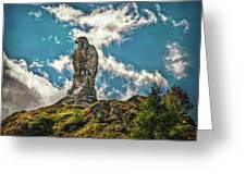 Rocky King Of Skies Greeting Card