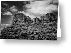 Rocky Landscape Greeting Card