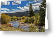 Rocky Mountain Afternoon Greeting Card