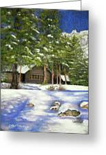 Rocky Mountain Blues Greeting Card