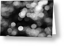 Rocky Mountain Bokeh Greeting Card